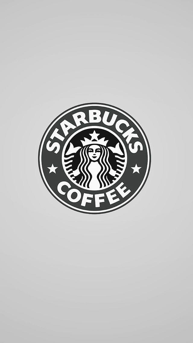 Starbucks Coffee Logo #iPhone #5s #Wallpaper