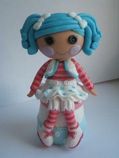 """Studio """"FONDANT DESIGN ANA"""" - Figurice za torte (fondant figures): LALALOOPSY (FONDANT FIGURE) Figurica od fondana"""