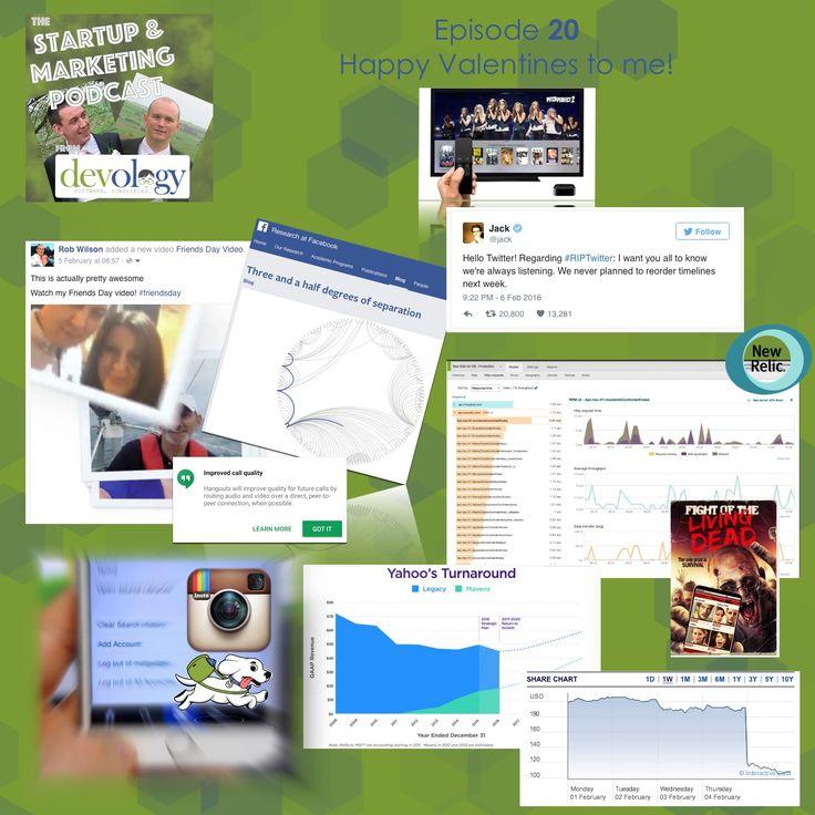 Episode 20 http://devology.co.uk/#podcast #facebook #friendsday   #twitter #riptwitter   #instagram multi accounts +More