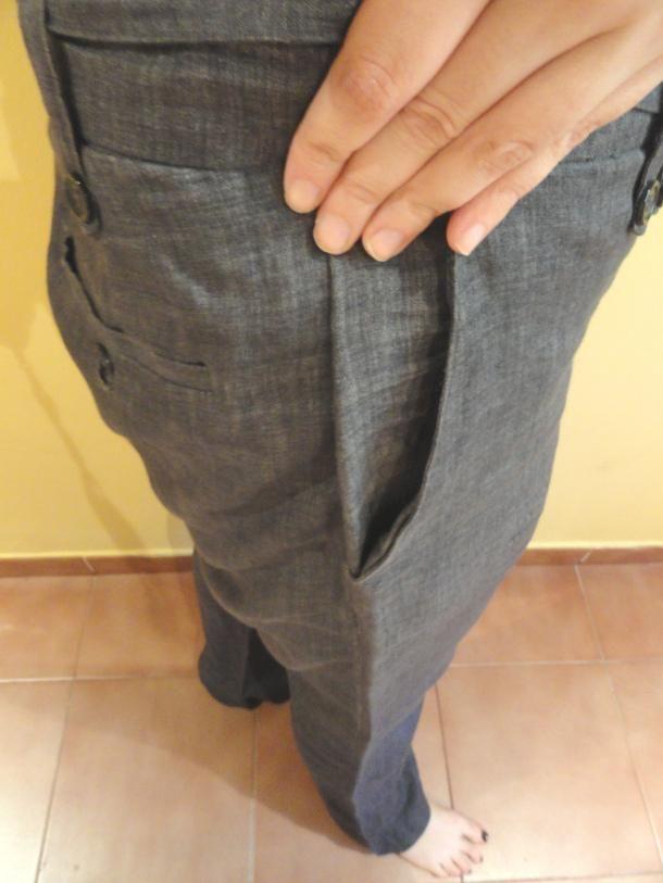 Como arreglar un pantalon que nos queda grande