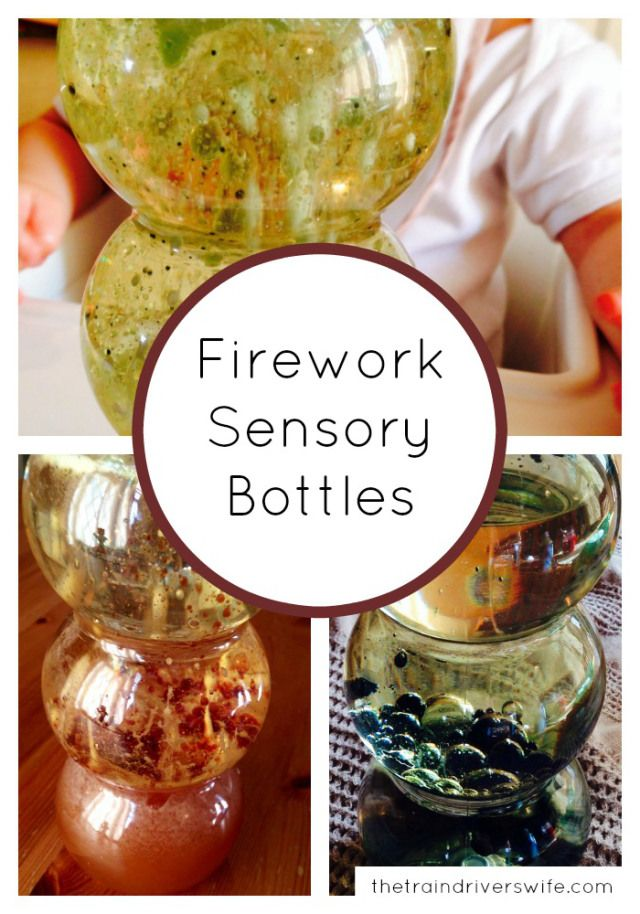 A simple firework activity suitable for kids of all ages. A simple science experiment for older kids and a calming sensory bottle for babies and toddlers