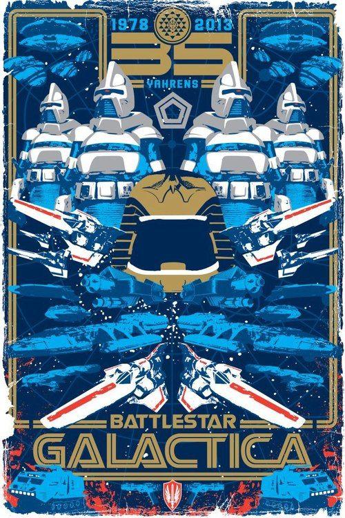Battlestar Galactica celebrating 35 years!!