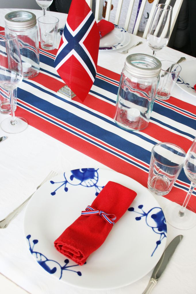 Inspiration - the norwegian constitution day, 17th of May.