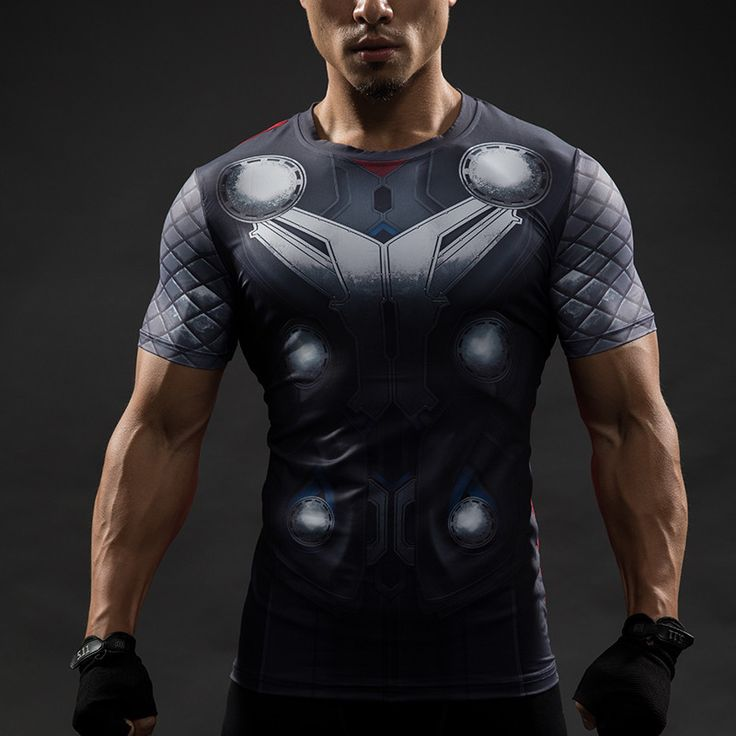 THOR Compression Shirt for Men (Short Sleeve)