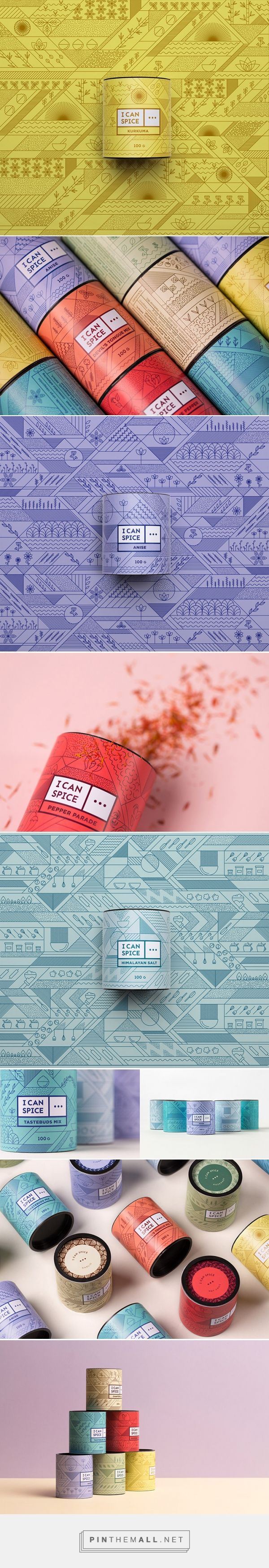 Colorful and eye-catching premium spice packaging #luxury #design #inspiration - Tap the link to shop on our official online store! You can also join our affiliate and/or rewards programs for FREE!
