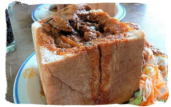bunny chow - a visit to Durban and a bunny chow