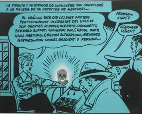 ÁLVARO BARRIOS EN LA GALERÍA FERNANDO PRADILLA