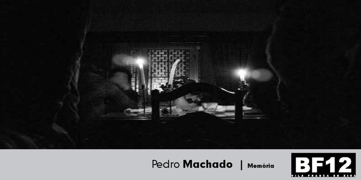 """Bienal de Fotografia 2012: Exposição de fotografia """"Memória"""" de Pedro Machado, de 25 de outubro a 15 de dezembro de 2012"""