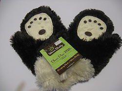 Childs Warm Buddy Bear Paw Mitts
