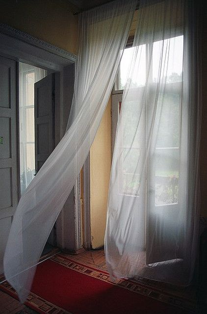 57 best breeze blown images on pinterest net curtains for White curtains wind