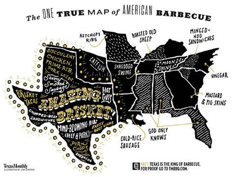 A tour of the Texas barbecue belt surrounding Austin describes the unique style of Texas barbecue. Includes photos and links to 20 pitstops including Cooper's, Kreuz, County Line, Black's, Smitty's, Sam's, Stubb's, Salt Lick, Iron Works, Southside Market, New Zion, Rudy Mikeska's, and Louis Mueller's.