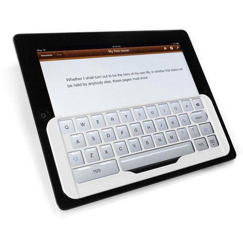 iKeyboard para iPad - Blanco