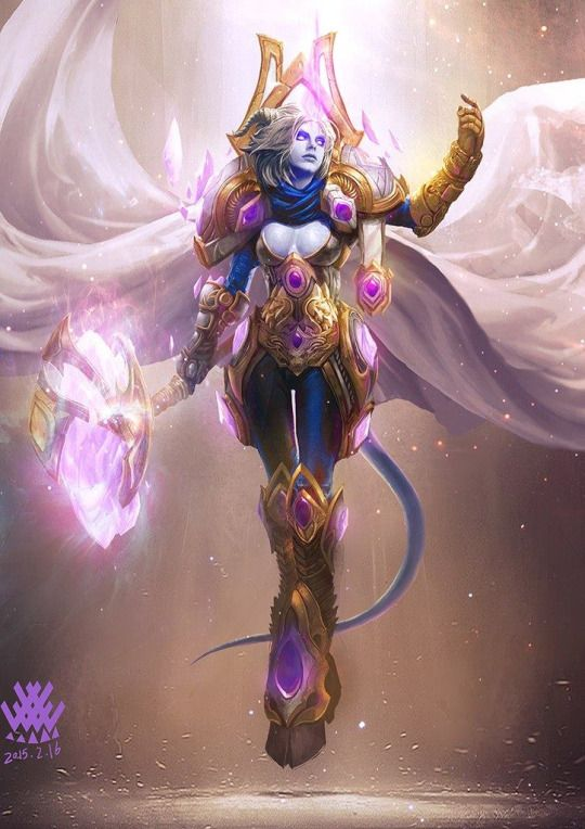 A WoW Mage (that's a paladin you moron!)