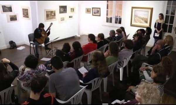 Homenaje al artista Ceferino Carnaccini en San Martín