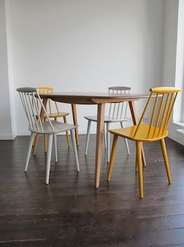 Beech & Elm 'Plank' Dining Table by Ercol, UK.