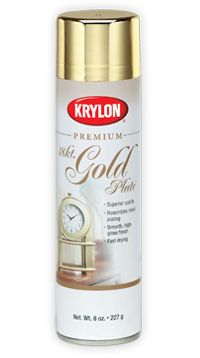 for diy krylon 39 s premium metallic beautiful metallic finish. Black Bedroom Furniture Sets. Home Design Ideas