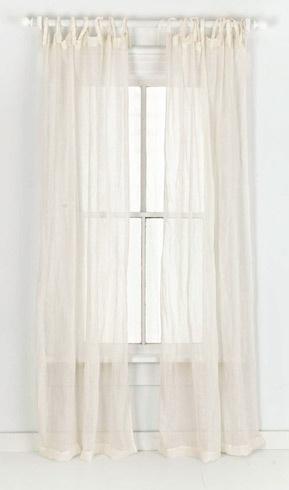 Linen Ivory Gauze Window Panel Curtains #projectnursery #franklinandben #nursery