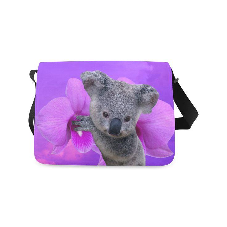 Koala Messenger Bag. FREE Shipping. #artsadd #bags #koala