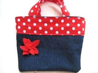 Reversible Bag for Girls (Free Sewing Pattern)