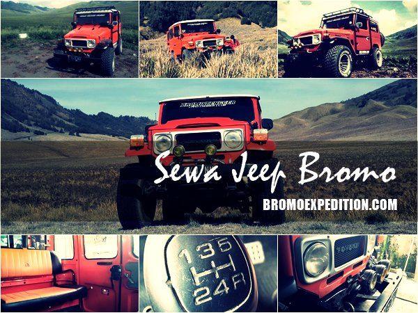 Sewa Jeep Bromo Murah adalah informasi persewaan dan harga jasa sewa jeep di bromo terbaru lengkap dengan daftar harganya. Selengkapnya lihat disini