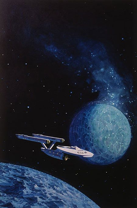 I had this poster on my bedroom wall for many, many years. Nothing better than 1970s-vintage sci-fi art! Artist: Lou Feck.