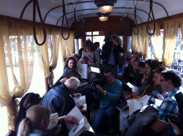 Edebiyat treni...Literary tram...