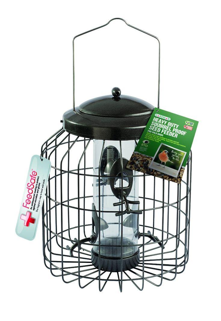gardman bird feeders squirrel proof