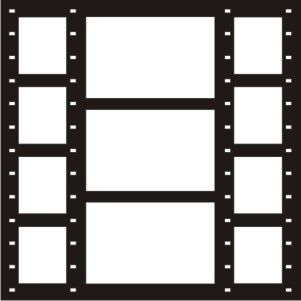 EZLaserDesigns : Photo Shoot Filmstrips  scrapbook overlay layout
