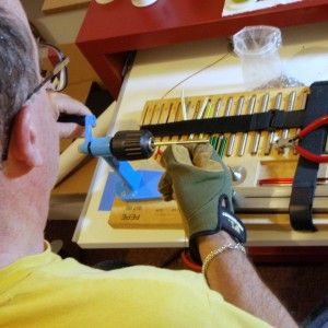 how to solder jump rings with soldering iron