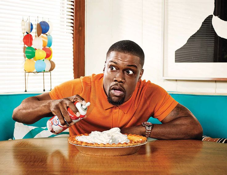 Who else would be ballsy enough to take THIS photo inside of a Men's Health magazine? This dude is something else. #KevinHart
