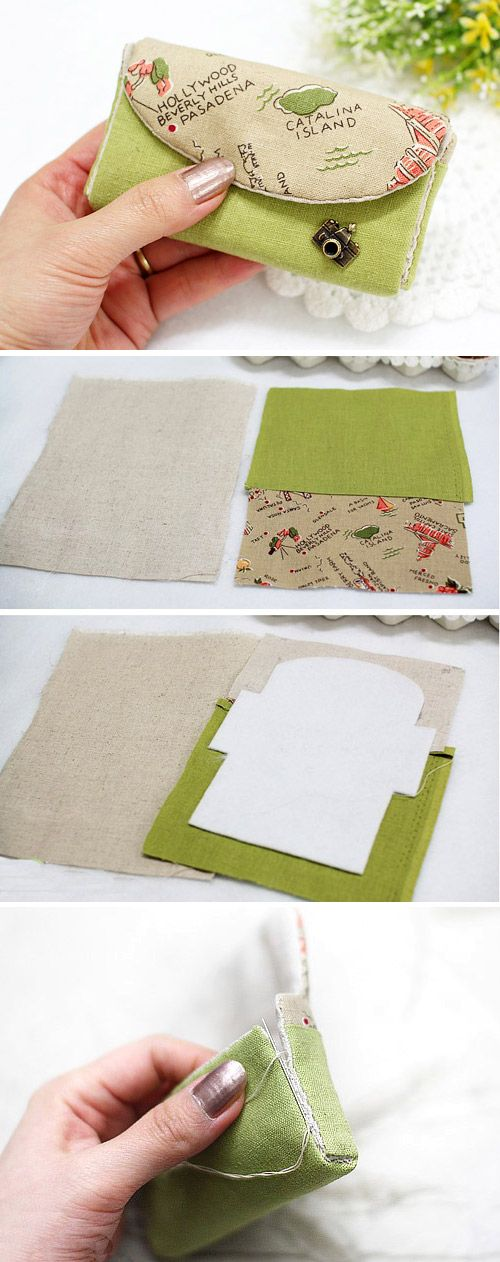 Card Pouch Organizer - Sewing Bag Tutorial DIY in Pictures…