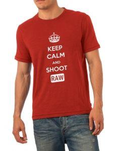 Keep Calm T-shirt for photolovers #thinkandshoot