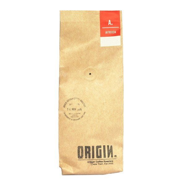 This delicious Rwandan single origin coffee has tart tropical fruit flavours…