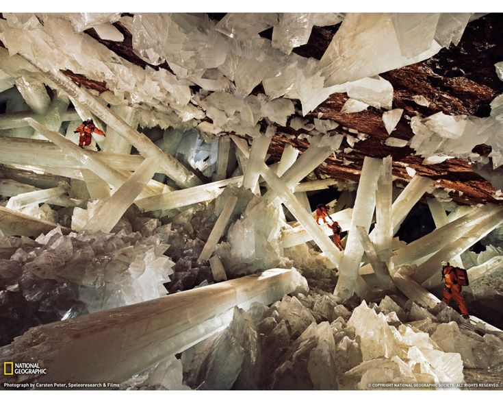 cave of crystals, Chihuaua, Mexico