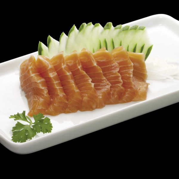 Sashimi de Salmão. Sushi Rão, o Maior Delivery de Sushi RJ