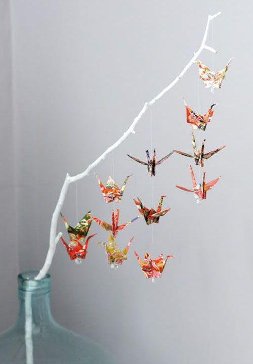 Origami cranes 折り紙