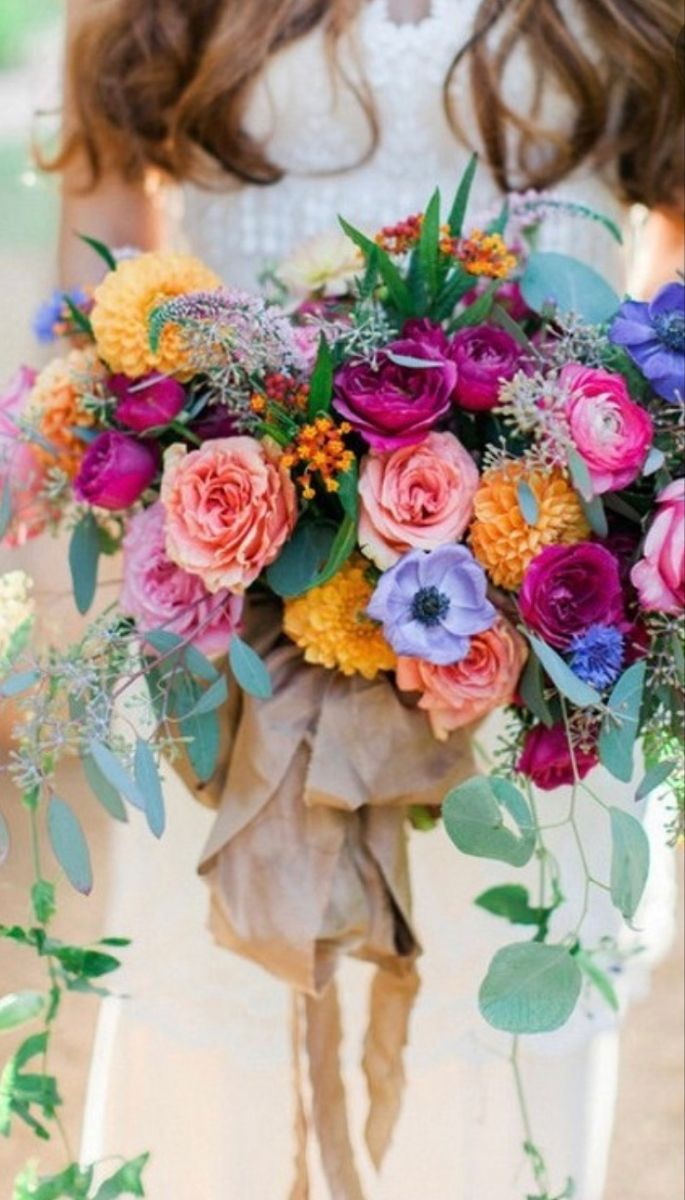 Pin by Gemma short on August Wedding 2022   Purple bridal ...