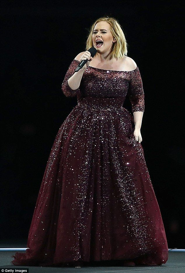 Hot in the city: Adele wows Perth crowd on first concert stop of Australian tour while 'boiling' in heat