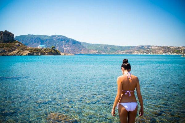 Agios Stefanos beach #kos #greekislands #greece