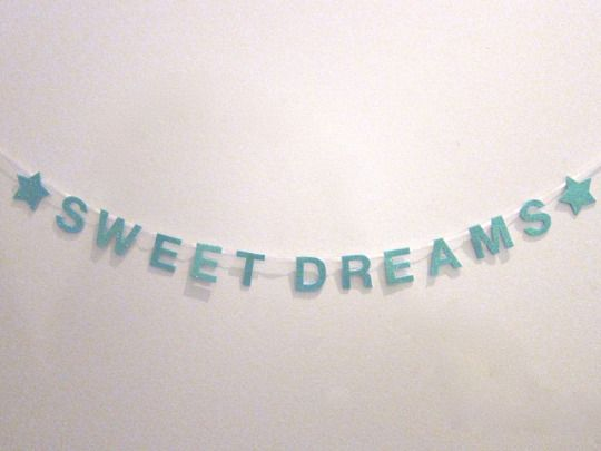 Sweet dreams wall hanging