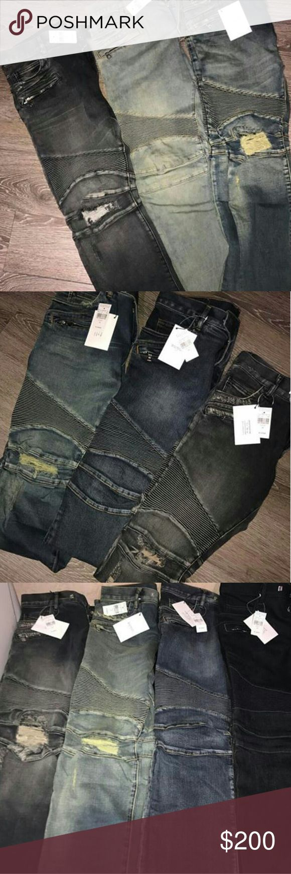 Balmain Jeans Balmain Jeans SERIOUS BUYERS ONLY 100% Authentic Brand New Never Worn PayPal payments only Text (586) 834-7967 if interested Balmain Pants