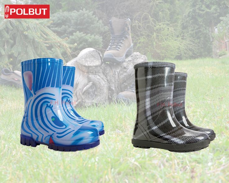 #Super #Wellies for #children , with special #pattern and #non-slip sole, #waterproof made by #Demar !
