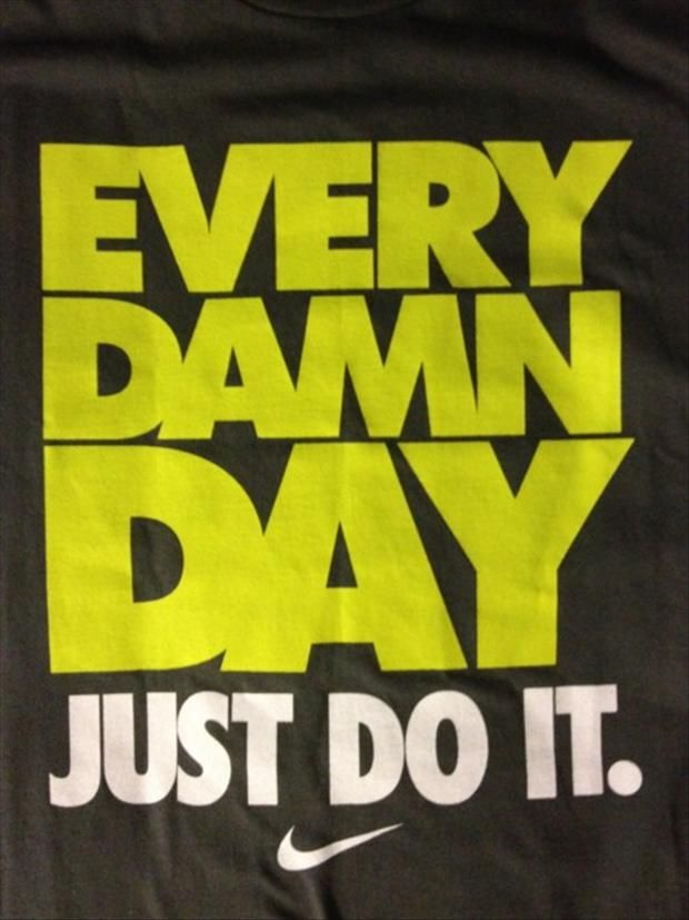 Motivational Fitness #justdoit #nike #quote #motivation #inspiration # workout #fitspo