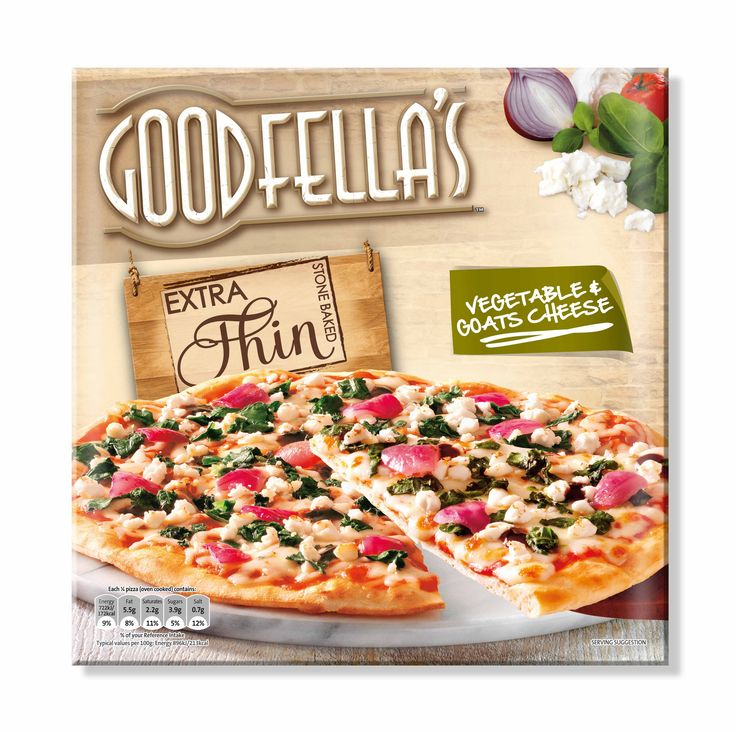 Goodfella's Extra Thin Pizza, Designed by Mesh Design, Dublin