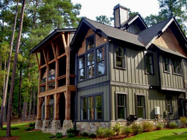100 best images about homes homes homes on pinterest for Rustic board and batten homes