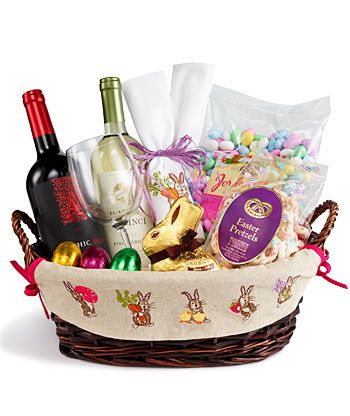 Grown up Easter basket!...If anyone wants to make this for me you are welcome to.