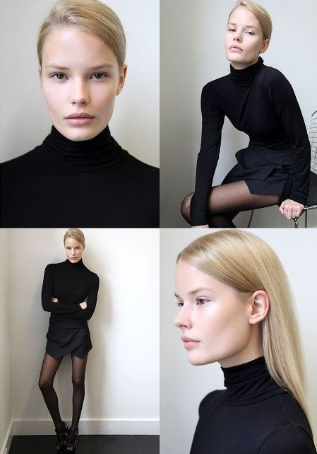 Alena Blohm. Outfit + hair love