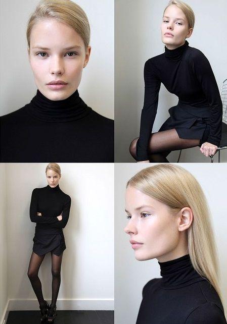 Alena Blohm. Outfit + hair love