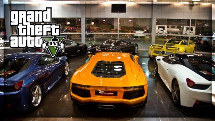 Hiden super car dealership gta 5 2019 supercar