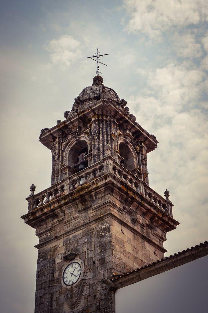 Torre Campanario, Iglesia Convento de Santo Domingo (Betanzos - Spain)